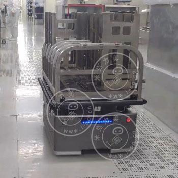 DZ-80激光AGV小车背负式应用视频
