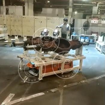 「广东AGV案例」顶升式装配型AGV小车的应用
