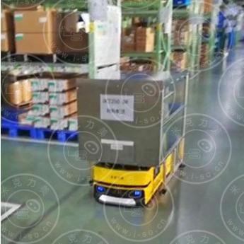 「上海AGV案例」顶升式激光AGV自动搬运系