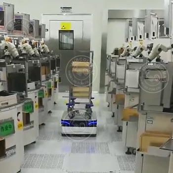 AGV in fully automatic production line